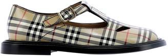 Burberry Vintage Check T-Bar Shoes
