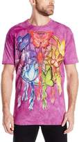 The Mountain Men's Rainbow Butterfly Dreamcatcher T-Shirt