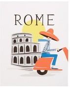 Rifle Paper Co. Bon Voyage Rome Art Print