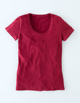 Boden New Lightweight Scoop Tee