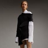 Burberry Asymmetric Sweatshirt Dress