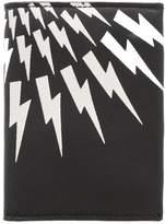 Neil Barrett Business card holder black/white