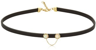 Ruifier Eyes On You Leather Choker