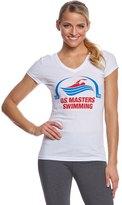 U.S. Masters Swimming USMS Women's Classic VNeck T-Shirt - 8115708