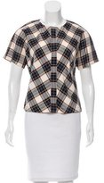 Dries Van Noten Gingham Plaid Top