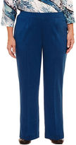 Alfred Dunner Arizona Sky Allure Stretch Pants-Plus Short
