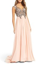 Mac Duggal Women's Beaded Gown