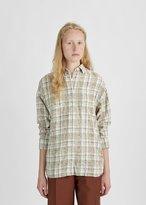 R 13 Plaid Cotton Shirt