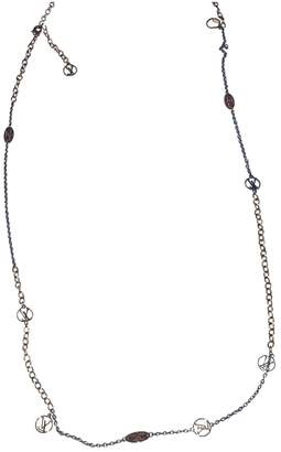 Louis Vuitton Monogram Gold Metal Necklaces