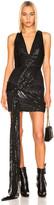 HANEY Lexi Dress in Black | FWRD