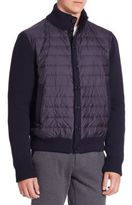 Saks Fifth Avenue COLLECTION Long Sleeves Ribbed Jacket