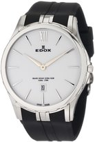 Edox Men's 27033 3 BIN Grand Ocean white dial watch.