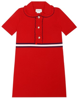 Gucci Kids Wool-blend dress