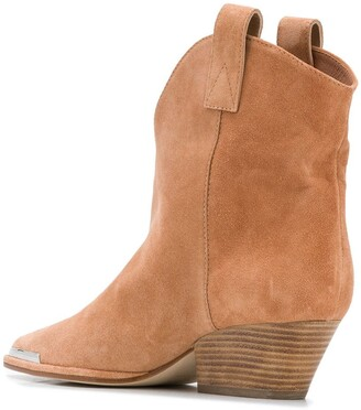 Sergio Rossi Western ankle boots