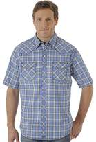 Wrangler Men's 20x Competition Two Pocket Short Sleeve Snap Front Shirt