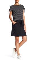 Max Studio A-Line Porkchop Mini Skirt