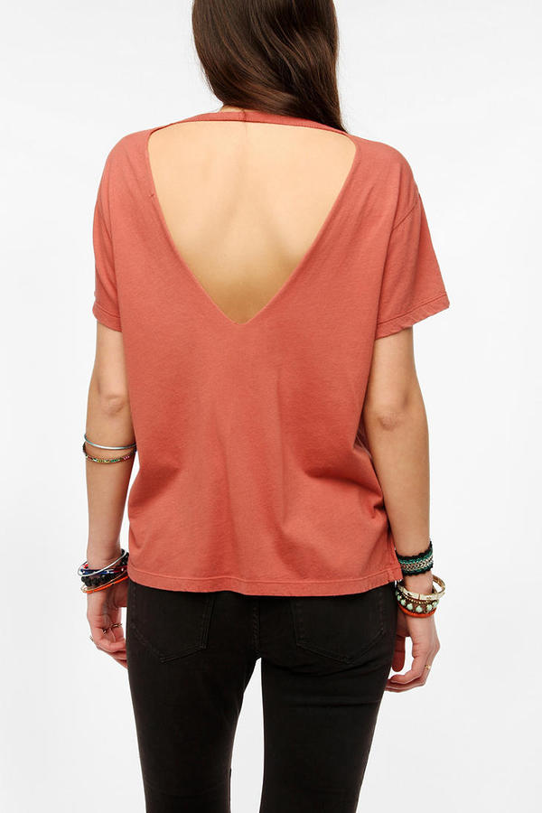 Truly Madly Deeply V-Back Cross Tee