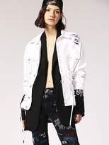 Diesel Denim Jackets 0NAUD - White - M