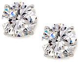 Large Cubic Zirconia Stud Earrings