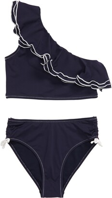 Habitual Ruffle Two-Piece Swimsuit