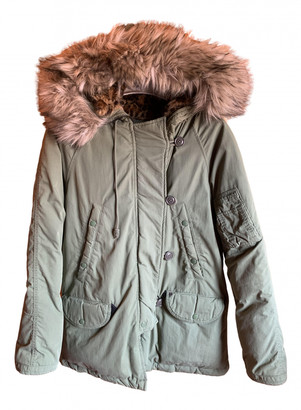 Denim & Supply Ralph Lauren Green Synthetic Jackets
