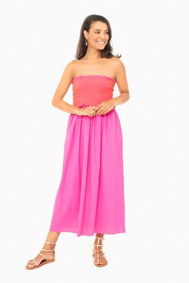 Pomander Place Fuchsia Strapless Jessie Dress