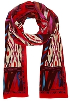 Vince Camuto Ikat-print Scarf
