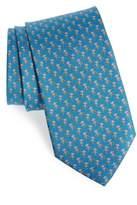 Salvatore Ferragamo Egira Print Silk Tie