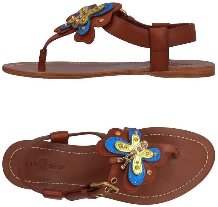 Car Shoe Toe strap sandals - Item 11384494LQ