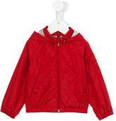 Moncler hooded jacket - kids - Cotton/Polyamide - 6-9 mth