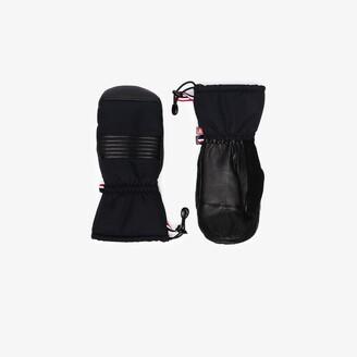 Fusalp black Albinen panelled mittens