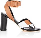 Derek Lam Women's Alibi Crisscross-Strap Leather Sandals-Tan, Black, White, Brown