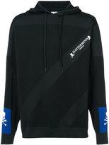Mastermind Japan diagonal stripes hoodie