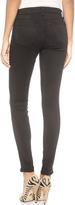 J Brand 485 Super Skinny Luxe Sateen Jeans