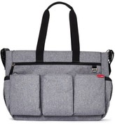 Skip Hop Infant 'Duo Double Signature' Diaper Bag - Grey