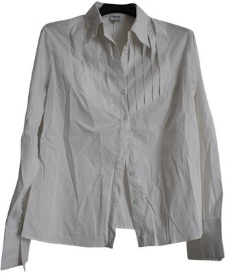 Armani Collezioni White Cotton Top for Women