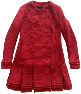 Meadham Kirchhoff Red Wool Coats
