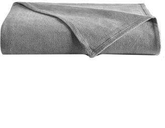 DownTown Company Woven Herringbone Blanket