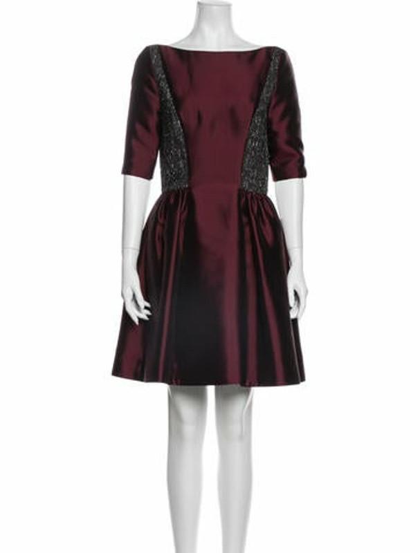 ADEAM Silk Mini Dress