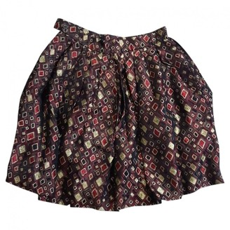 Saint Laurent Brown Viscose Skirts