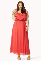 Forever 21 FOREVER 21+ Summer Nights Maxi Dress