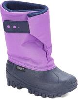 Tundra Navy & Grape Teddy Snow Boot