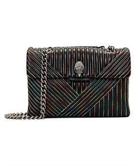 Kurt Geiger London Leather Kensington V Bag