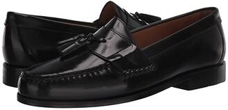 Johnston & Murphy Hayes Tassel Loafer (Black) Men's Shoes
