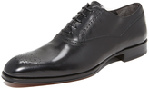To Boot Salinger Punched Toe Lace Up Oxfords
