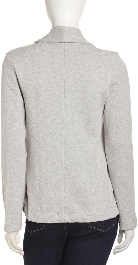 James Perse Drawstring Sweatshirt Jacket