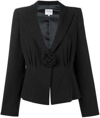 Giorgio Armani Pre-Owned 2000's bow detail jacket