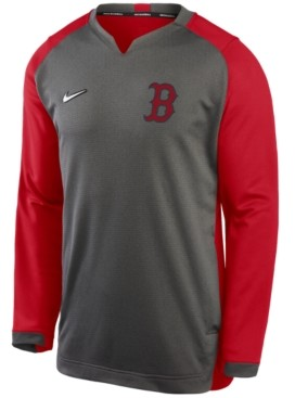 Nike Men's Boston Red Sox Authentic Collection Thermal Crew Sweatshirt