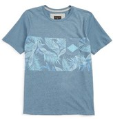 Quiksilver Boy's Faded Time Graphic T-Shirt