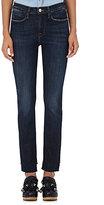 Frame Women's Le High Straight Reverse Jeans-NAVY
